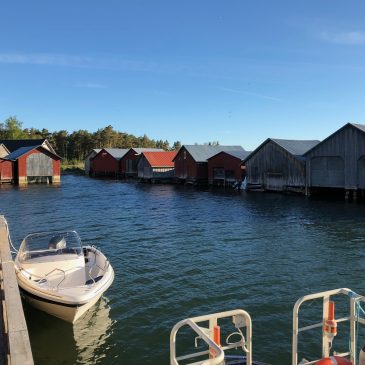 Studiebesök på Åland