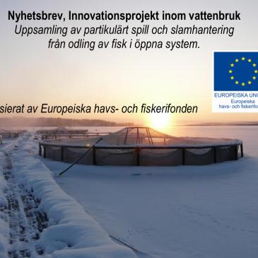 Innovationsprojekt mellan akademin, myndigheter och fiskodlingsbranschen