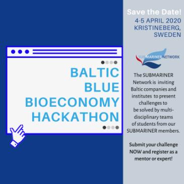 Hackathon kring utmaningar inom vattenbruk 4-5 april